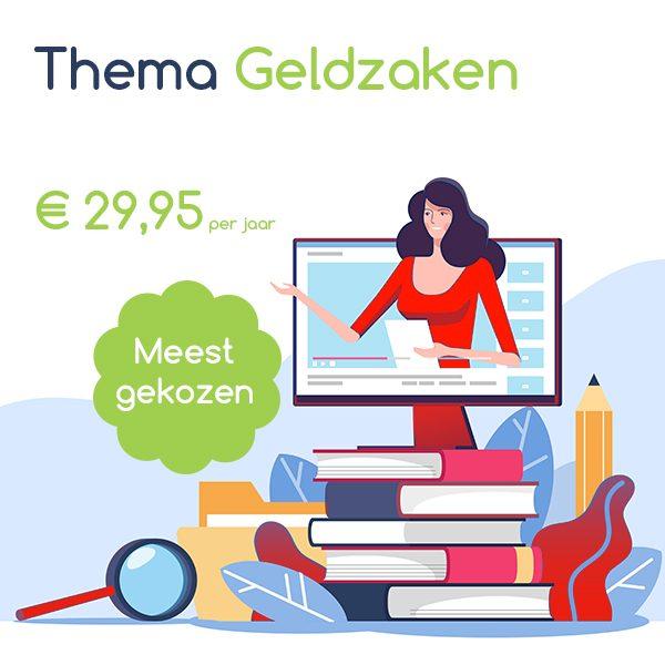 Pakket abonnement wijleggenuit thema geldzaken 2021 a
